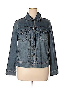 St. John's Bay Denim Jacket Size 1X (Plus)