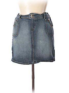 Paris Blues Denim Skirt Size XL