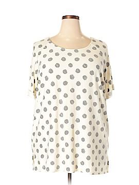 Hail3y:23 Short Sleeve Blouse Size 3X (Plus)