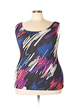 Liz Baker Sleeveless Blouse Size 1X (Plus)