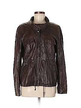 Theory Leather Jacket Size M