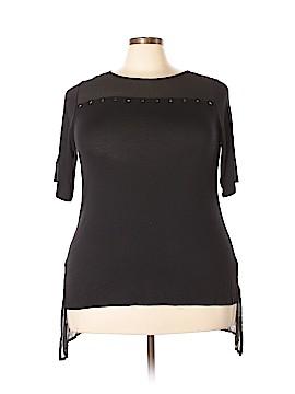 Design 365 Short Sleeve Top Size 2X (Plus)