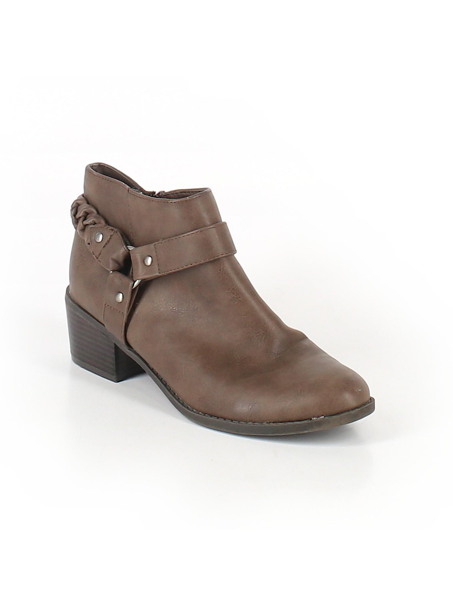 Boutique promotion Boots Ankle Rd Indigo 1UzBUSqp