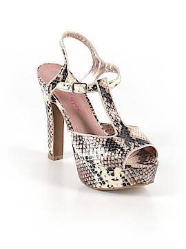 Pink & Pepper Heels Size 7 1/2