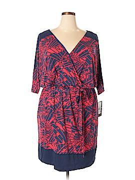 Sangria Casual Dress Size 24 (Plus)