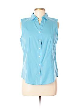 Talbots Sleeveless Button-Down Shirt Size 8