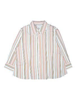 Fred David 3/4 Sleeve Button-Down Shirt Size XL