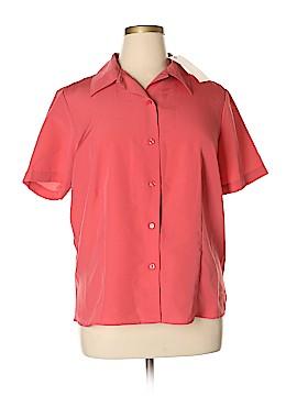Kathie Lee Short Sleeve Blouse Size 14 - 16