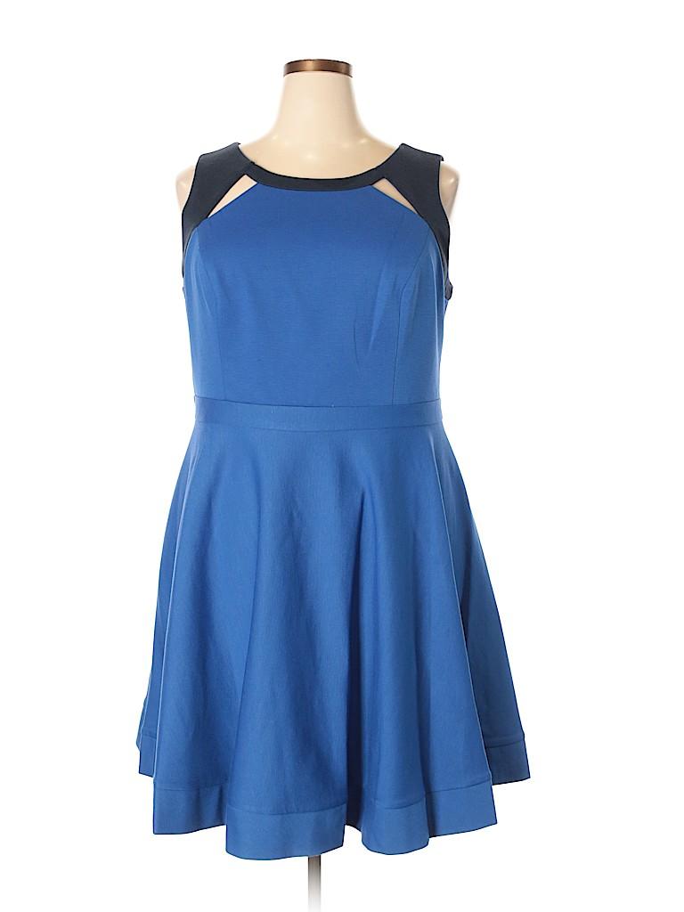 MBN Women Casual Dress Size 1X (Plus)
