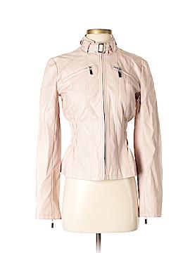New York & Company Faux Leather Jacket Size XS