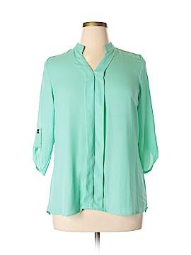 Libian 3/4 Sleeve Blouse Size 1X (Plus)