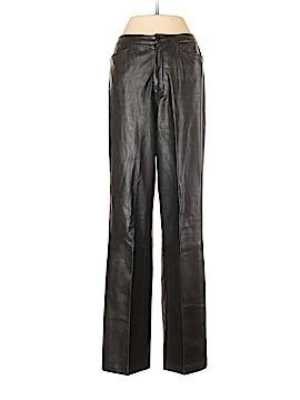 Ellen Tracy Leather Pants Size 4