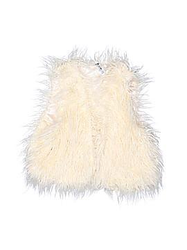 Beautees Faux Fur Vest Size L (Kids)
