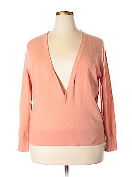 Lafayette 148 New York Cashmere Pullover Sweater Size 1X (Plus)