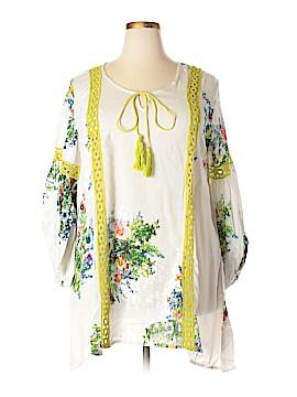 Velzera Long Sleeve Blouse Size 1XL (Plus)