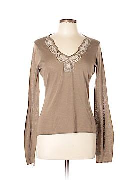 Elie Tahari Silk Pullover Sweater Size M