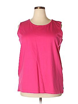 Elisabeth by Liz Claiborne Sleeveless T-Shirt Size 2X (Plus)
