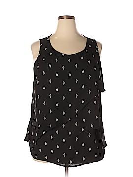 Ava & Viv Sleeveless Blouse Size 2X (Plus)