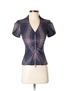 Karen Millen Short Sleeve Blouse Size 2