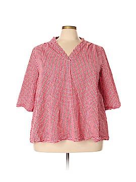 Zanzea Collection 3/4 Sleeve Blouse Size 5X (Plus)