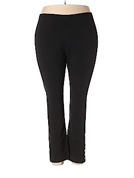 Susan Graver Leggings Size 2X (Plus)