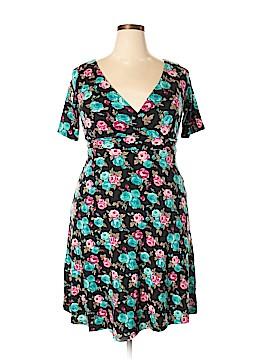 Poppy & Bloom Casual Dress Size 0X (Plus)
