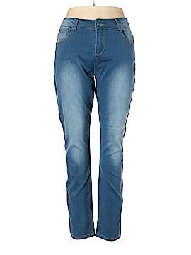 Elvi Jeans Size 20 (Plus)