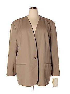Paul Stanley Wool Blazer Size 24 (Plus)