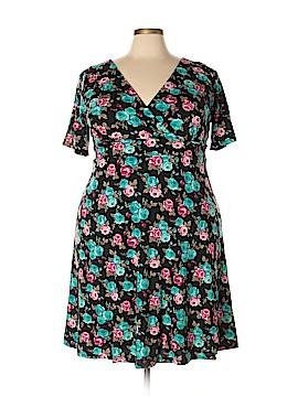 Poppy & Bloom Casual Dress Size 1X (Plus)