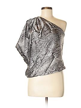 Ramy Brook Short Sleeve Silk Top Size S