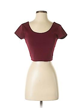 LA Hearts Short Sleeve Blouse Size S