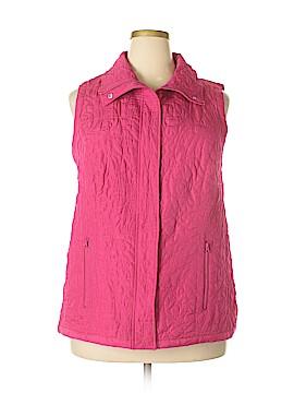 Liz & Me for Catherines Vest Size 0X (Plus)