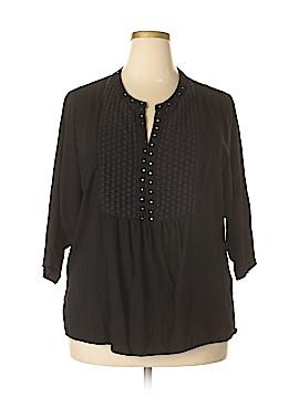 Cathy Daniels 3/4 Sleeve Top Size 1X (Plus)