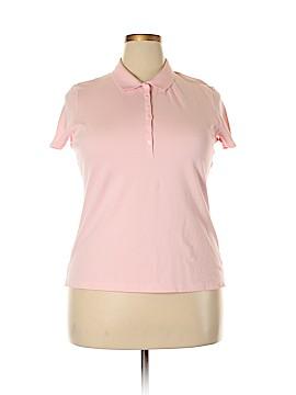 St. John's Bay Short Sleeve Polo Size XL (Petite)
