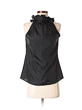 Elena Solano Sleeveless Silk Top Size S