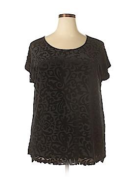 Ava & Viv Short Sleeve Top Size 1X (Plus)