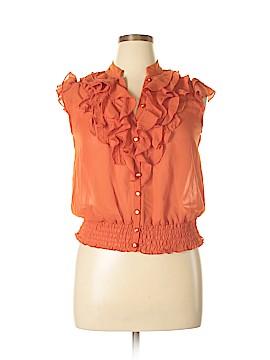Antilia Femme Short Sleeve Blouse Size XL