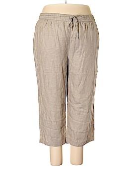 Liz Claiborne Linen Pants Size 22 (Plus)