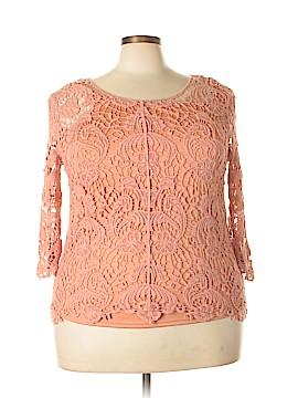 BFA Classics Short Sleeve Blouse Size 1X (Plus)