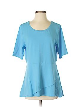Isaac Mizrahi Short Sleeve Top Size S