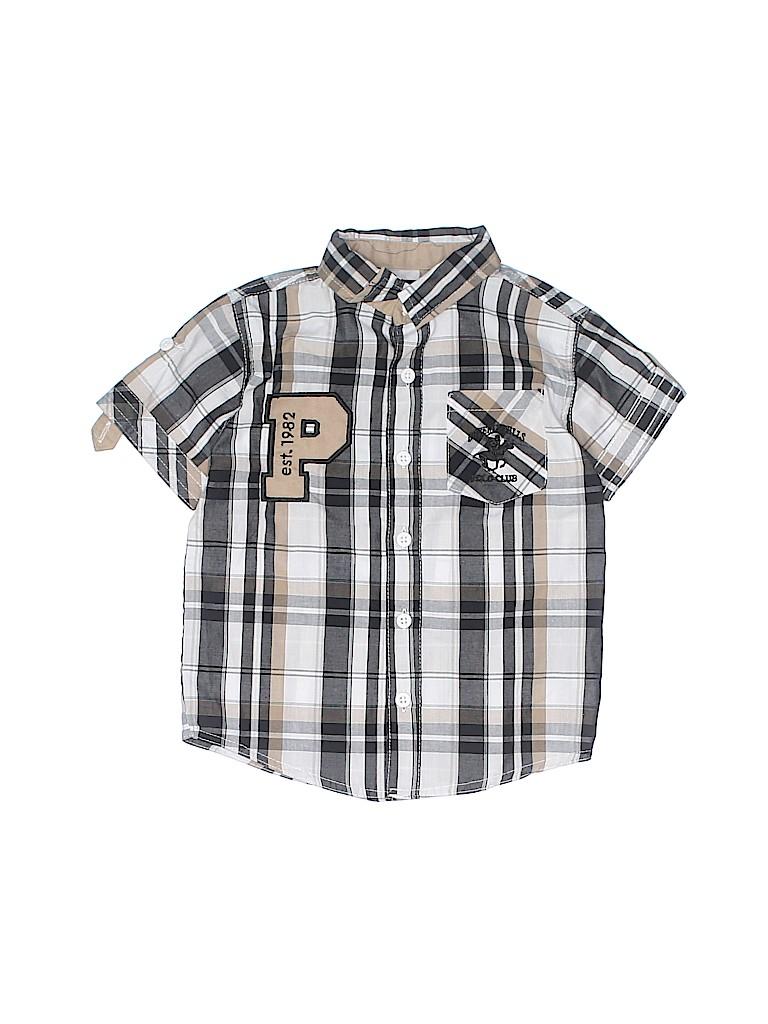 bbeaa5a96 Black Button Down Shirt For Toddler Boy - DREAMWORKS
