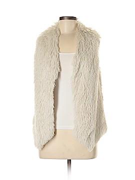 Double Zero Faux Fur Vest Size S