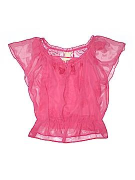 New York City Design Co. Short Sleeve Blouse Size XL
