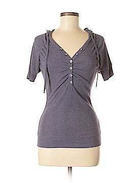 American Rag Short Sleeve Henley Size M