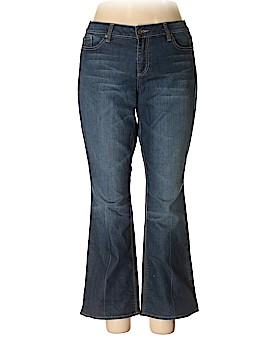 New York & Company Jeans Size 18 (Plus)