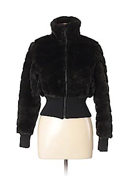 E2 Clothing Faux Fur Jacket Size M