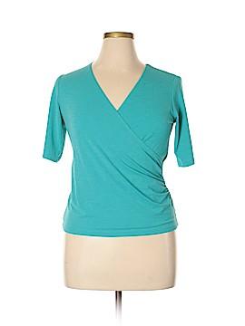 JKLA 3/4 Sleeve Blouse Size XL