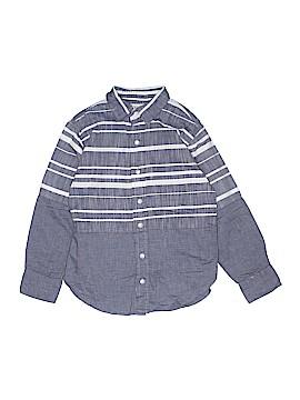 Pd&c Long Sleeve Button-Down Shirt Size L (Kids)