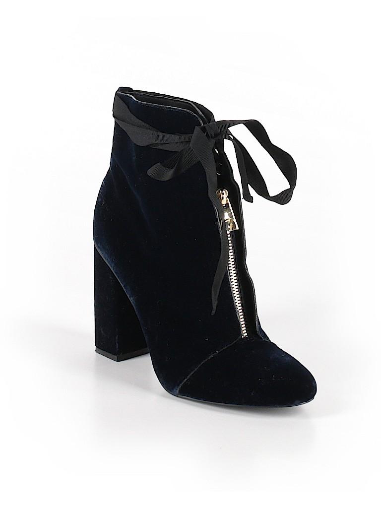 fbf1af8c4d4 Zara TRF Solid Navy Blue Ankle Boots Size 39 (EU) - 68% off   thredUP