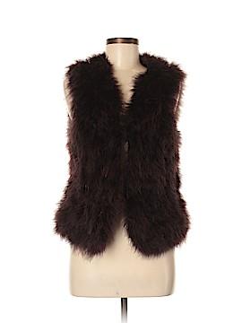Club Monaco Faux Fur Vest Size M